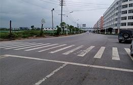 广西来宾市河西城区路网工程凤翔路沥青路面