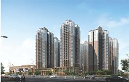 来宾市华侨投资区安置房工程  效果图